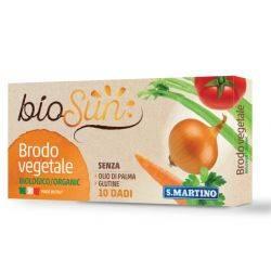 Cuburi vegetale bio pentru supa fara gluten x 100g (10 cuburi) bioSUN