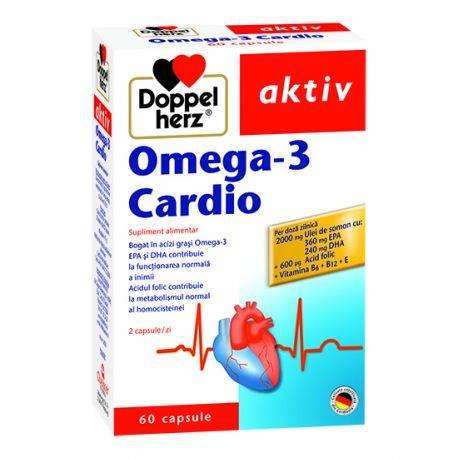 Doppelherz aktiv Omega-3 Cardio x 60 capsule