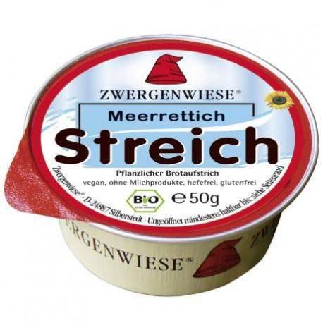 Pasta tartinabila ECO vegana Meerrettich fara gluten x 50g Zwergenwiese