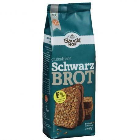 Amestec pentru paine cu faina de orez fara gluten ECO 500g BauckHof