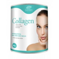 Collagen Eco pentru par, unghii si piele x 140g Nature's Finest